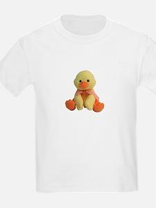 Plush Duck Kids T-Shirt