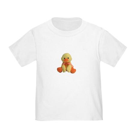 Plush Duck Toddler T-Shirt