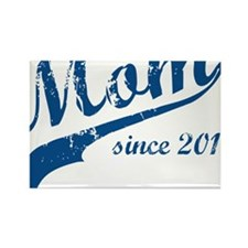 mom3 Rectangle Magnet