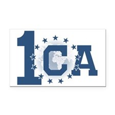 1CA logo no text Rectangle Car Magnet