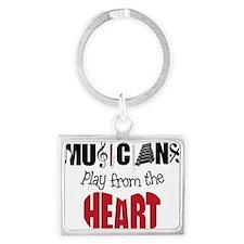 Musicians Landscape Keychain
