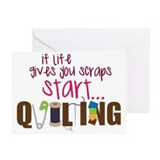 Start Quilting Greeting Card