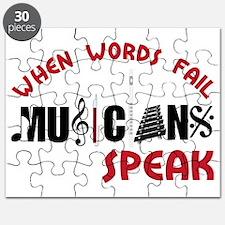 Musicians Speak Puzzle
