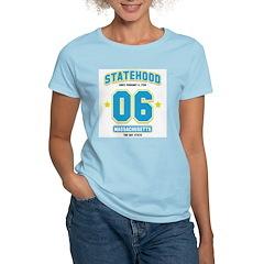 Statehood Massachusetts Women's Light T-Shirt