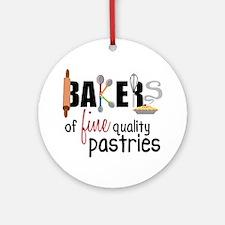 Fine Quality Pastries Round Ornament