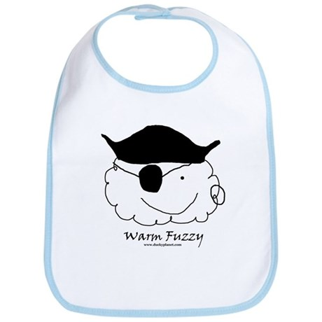 Pirate Warm Fuzzy Bib