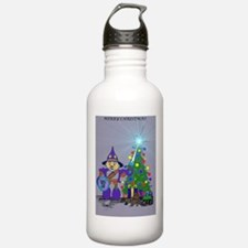 A Sparlock Christmas Water Bottle