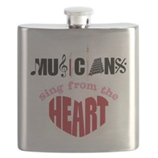 Sing From The Heart Flask