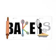 Bakers Aluminum License Plate