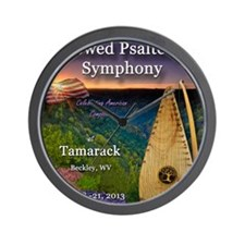 The 4th Annual Bowed Psaltery Symphony Wall Clock
