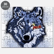 Twilight Indigo Jacob Wolf Puzzle