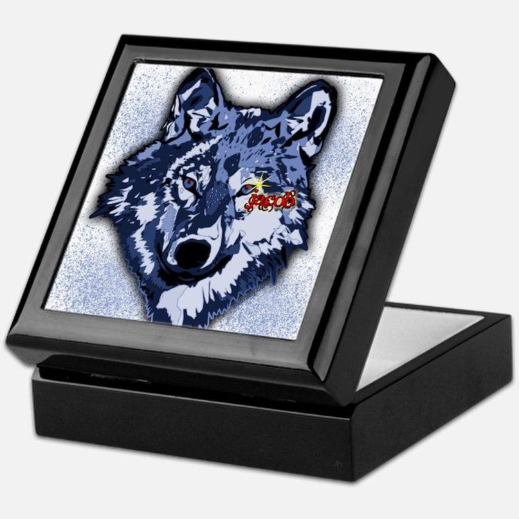 Twilight Indigo Jacob Wolf Keepsake Box