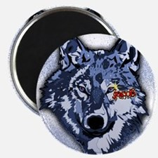 Twilight Indigo Jacob Wolf Magnet