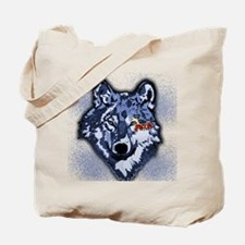 Twilight Indigo Jacob Wolf Tote Bag