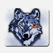 Twilight Indigo Jacob Wolf Mousepad