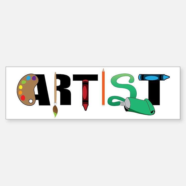 Artist Sticker (Bumper)