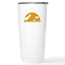 Noah and T-Rex, Witty Travel Mug