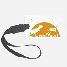 Noah and T-Rex, Witty Luggage Tag