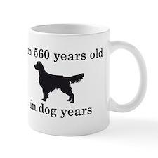 80 birthday dog years golden retriever 2 Mugs