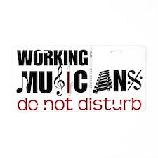 Working Musicians Aluminum License Plate