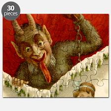 Devil Krampus Christmas Puzzle