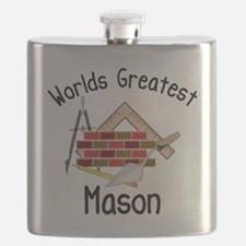 Worlds Greatest Mason Flask