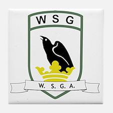 WSG logo Tile Coaster