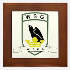 WSG logo Framed Tile