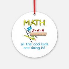 Math Round Ornament