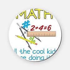 Math Cork Coaster