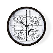 The Homecoming Wall Clock