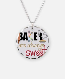 Bakers Are Always Sweet Necklace
