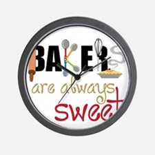 Bakers Are Always Sweet Wall Clock