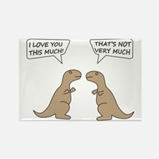 T-Rex Feelings, Hilarious Rectangle Magnet