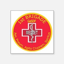 "MD 1st Brigade GaSDF Square Sticker 3"" x 3"""