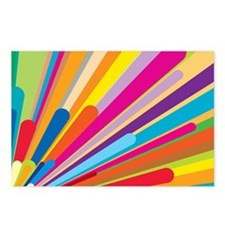 Color Explosiion Postcards (Package of 8)