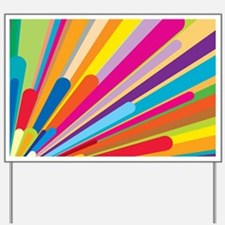 Color Explosiion Yard Sign