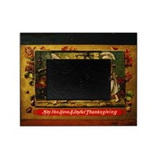 Thanksgiving Doxies 2 Picture Frame