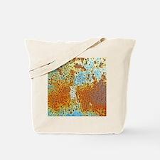 Rust Texture Tote Bag