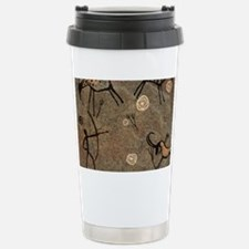 Cave Painting Stainless Steel Travel Mug