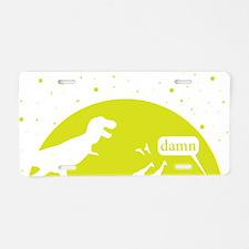 Noahs Ark Humor Aluminum License Plate
