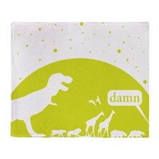 Noahs Ark Humor Throw Blanket