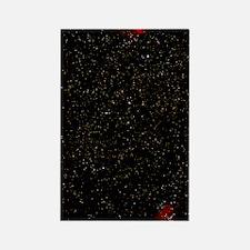 Eagle and Omega nebulae Rectangle Magnet