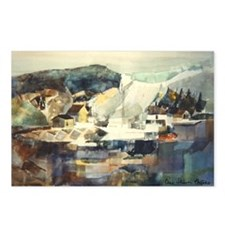 Trellis Bridge by Elsie Batze Postcards (Package o