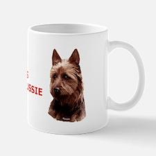 Funny Australian terrier Mug
