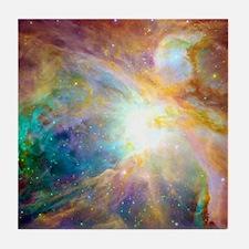 Space Galaxy Tile Coaster