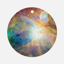 Space Galaxy Round Ornament
