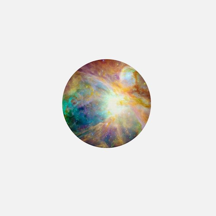 Space Galaxy Mini Button