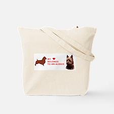 Unique Australian terrier Tote Bag
