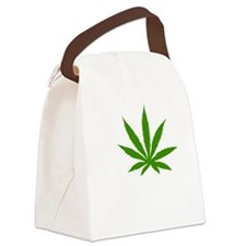 mj53dark Canvas Lunch Bag